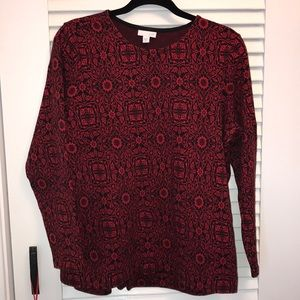 J Jill medium long sleeve top
